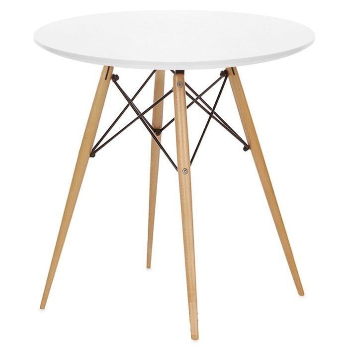 Mesa de diseño, multiusos. -Estructura de madera con varillas ...