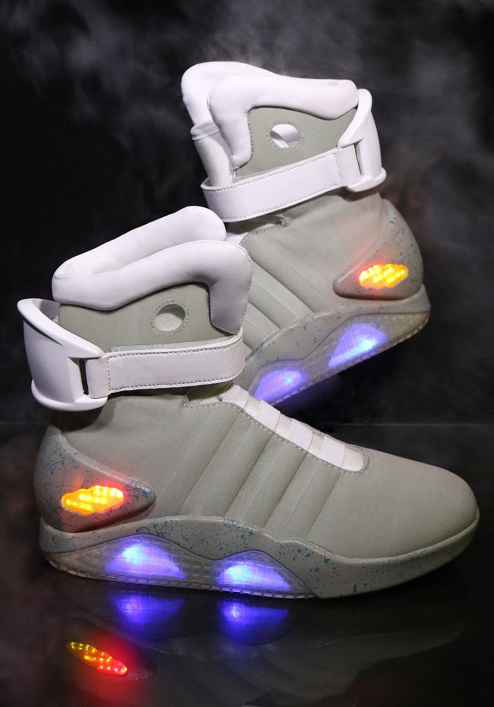Official BACK TO THE FUTURE II Light Up Shoes — Now 590% Cheaper
