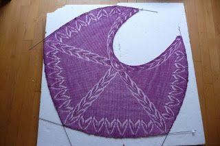 Creariet: Blocken, opspannen van breiwerk