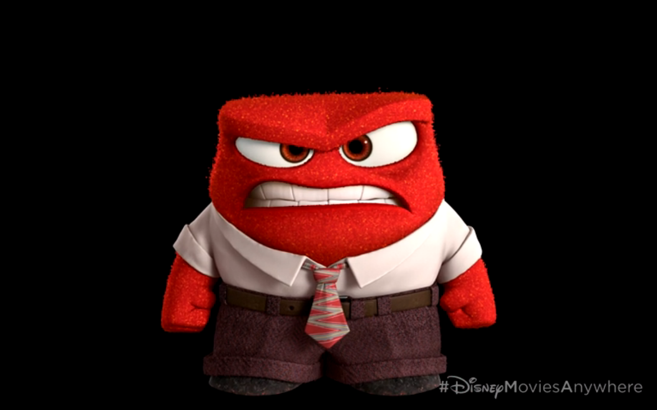 Sneak Peek Shows First Look At Riley From Pixar S Inside Out Inside Out Costume Anger Art Disney Inside Out