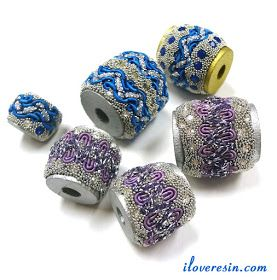I LOVE RESIN: Beaded Beads You Can Make In Moments
