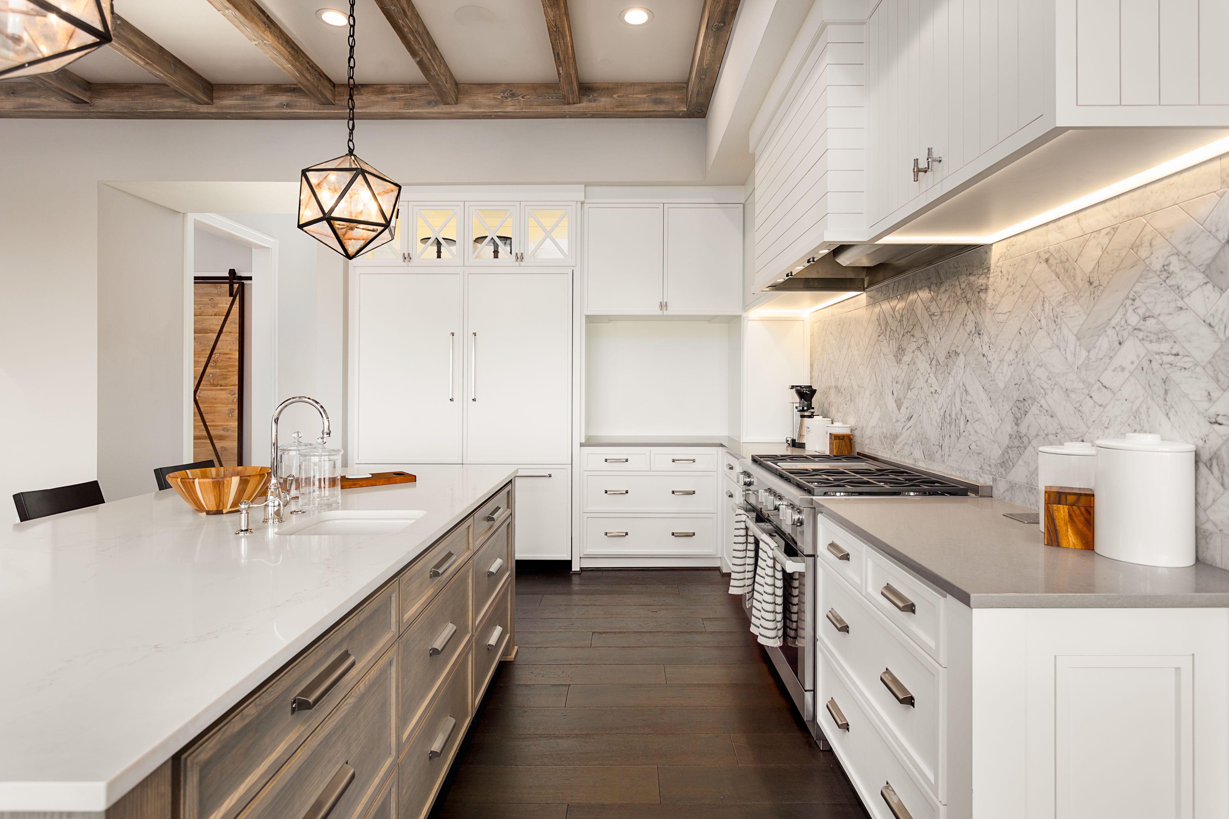 How To Adjust Self Closing Kitchen Cabinet Hinges Hunker Kitchen Backsplash Designs White Kitchen Design Kitchen Cabinets