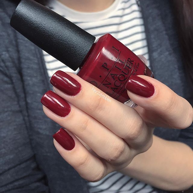 OPI • Got the Blues for Red | esmaltes | Pinterest | OPI, Red nail ...