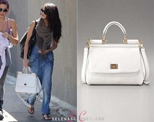 e067c41e30a5 Outed Dolce   Gabbana bag fan Selena Gomez was photographed in Los Angeles  with a friend