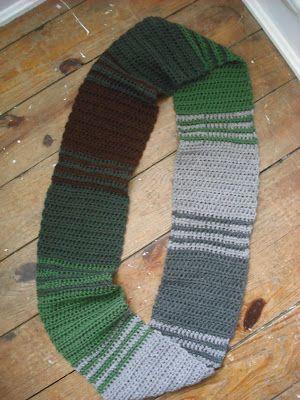 Purple Chair Crochet: Crochet - stripe inspiration photo.