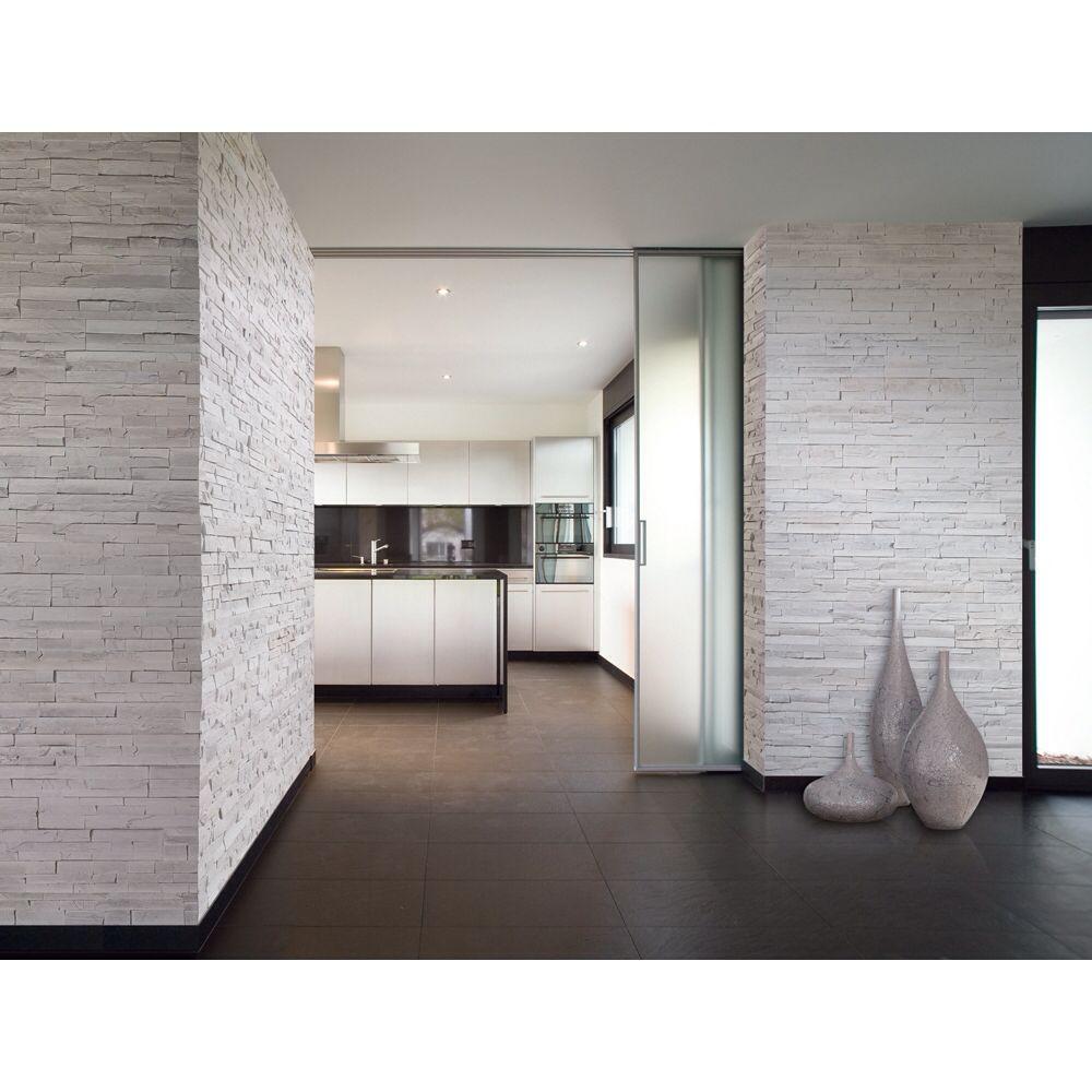cuisine mur de parement d233co maison pinterest mur de