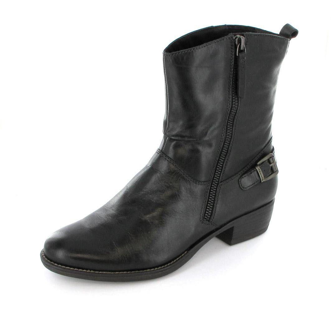Tamaris Cowboytive Stiefelette | Schuhe damen, Stiefeletten
