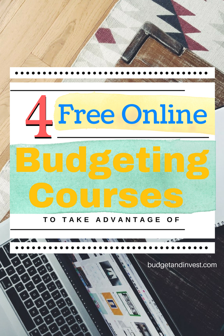 4 free online budgeting courses to take advantage of
