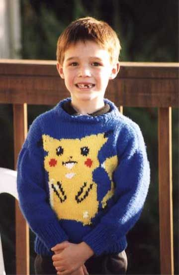 Pikachu Knitting Chart By Barbara Breiter On Knitting On The Net