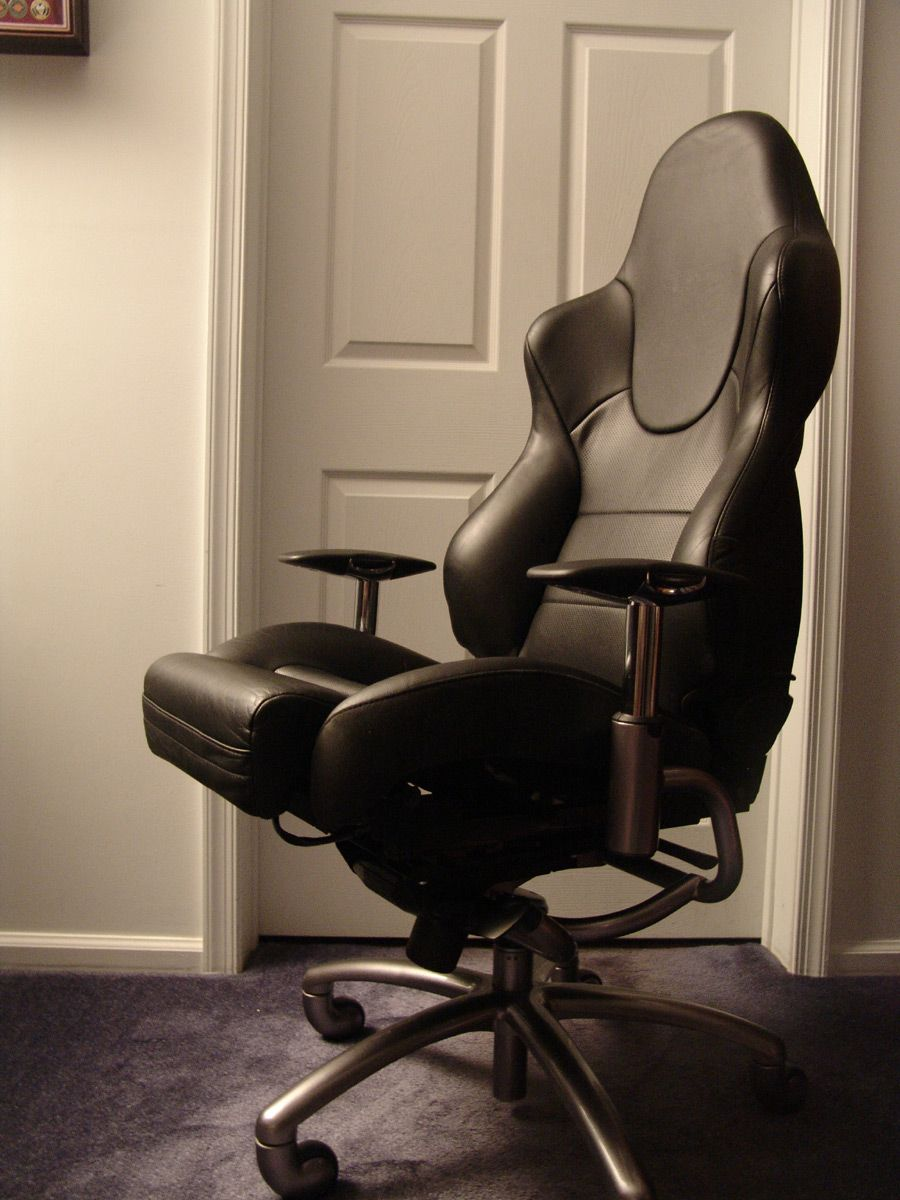 Aston Martin Db 12 Seat Converted Into An Office Chair By