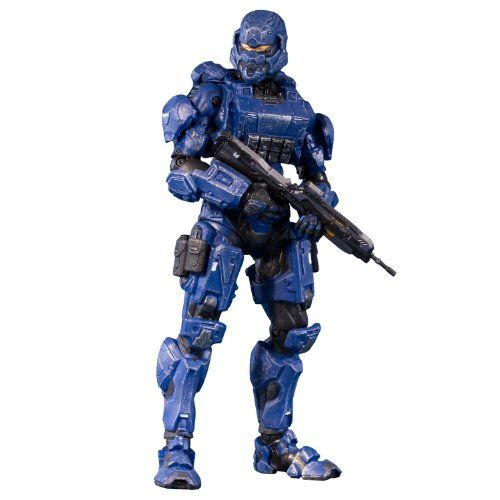McFarlane Toys Halo 4 Series 1 – Blue Spartan Soldier with Battle Rifle Action Figure Review
