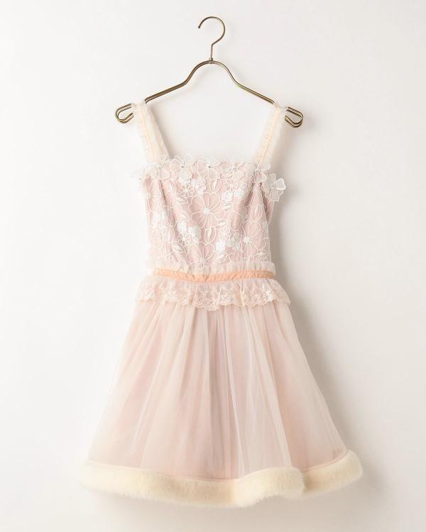 〔Party Dress〕ポイントファードレス
