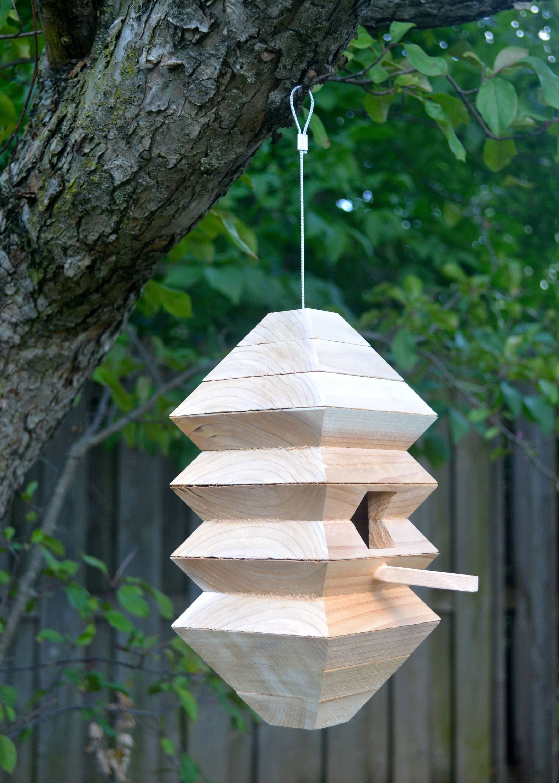 Modern Birdhouse Unique Birdhouses Cedar Bird Home Outdoor Unique Bird Houses Modern Birdhouses Bird House Kits