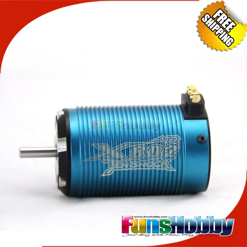 Tenshock X802V2 1:8 6 Pole RC Electric Micro Brushless DC Motor For