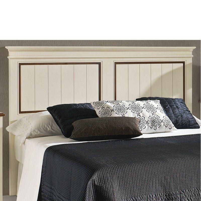 Cabecera de madera para cama de matrimonio o juvenil for Cabeceros cama juvenil