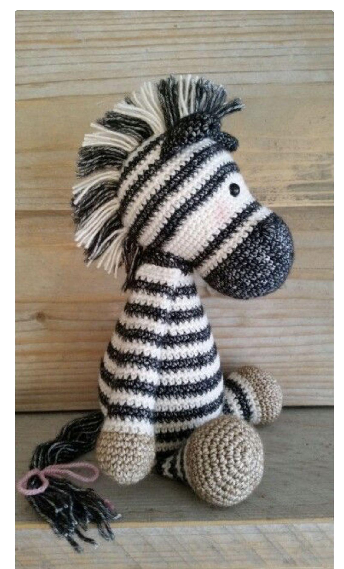Zebra em Amigurumi no Elo7 | TZ Crochê (F16C9D) | 1879x1136