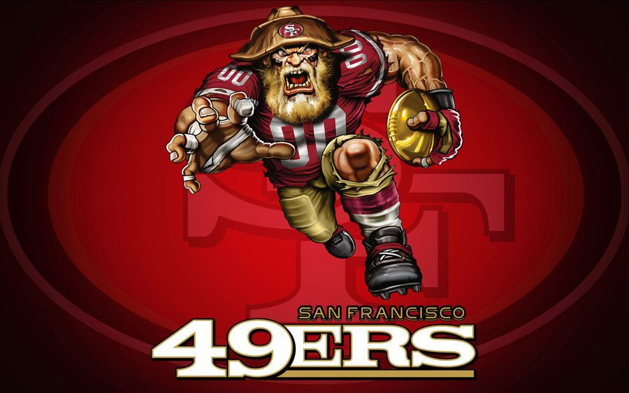 Ferocious 49er by superman8193 on deviantart niners football ferocious 49er voltagebd Gallery