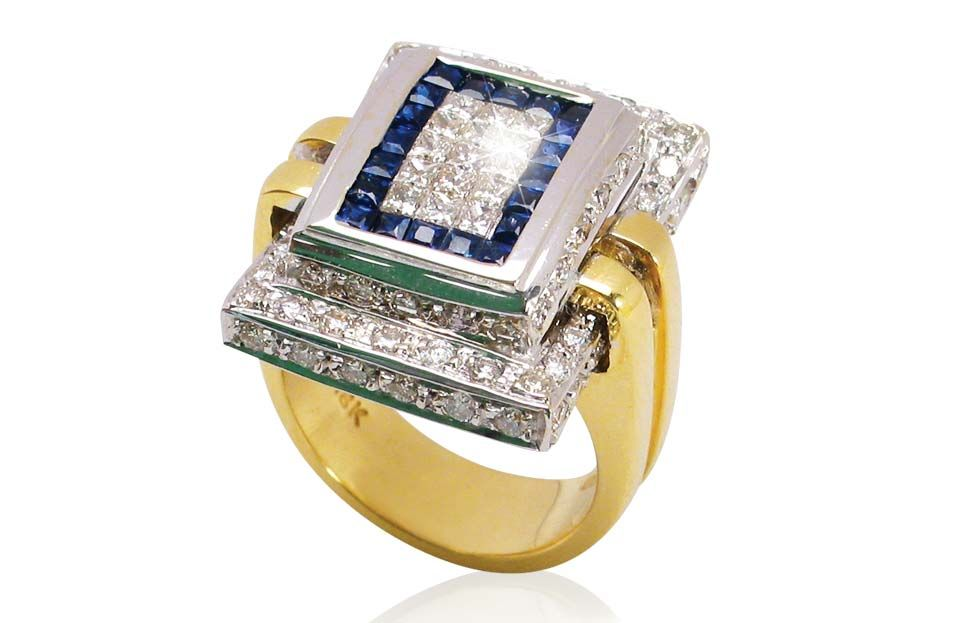 A Touch of Gold has a large collection of 14karat gold sapphire