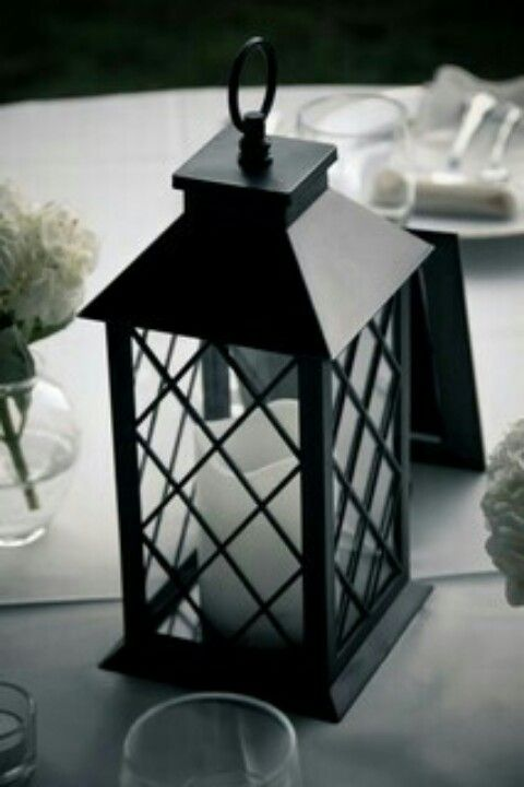 Different lantern centerpiece idea wedding pinterest