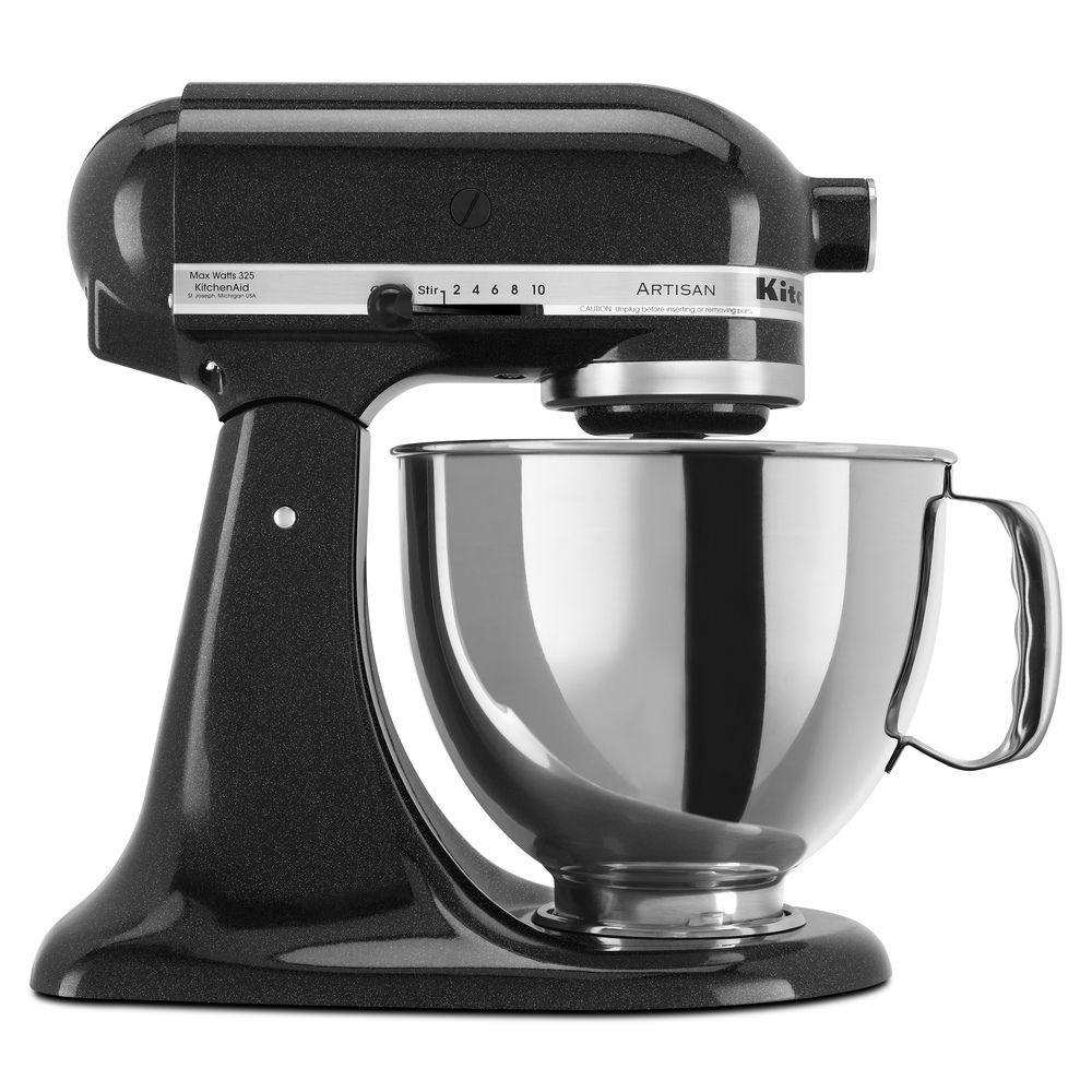KitchenAid KSM150PSCV Caviar 5-quart Artisan Tilt-head Stand Mixer on kitchenaid mixer accessories, kitchenaid mixer kmart, kitchenaid mixer gift, kitchenaid mixer special, kitchenaid mixer pricing,