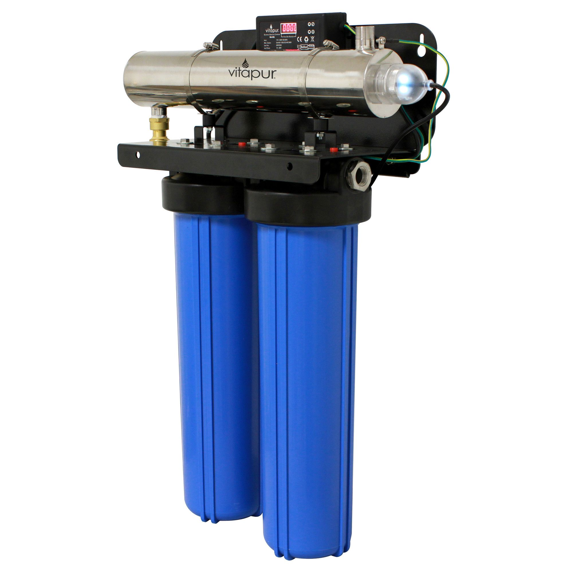 Ultraviolet Whole House Water Disinfection and Filtration