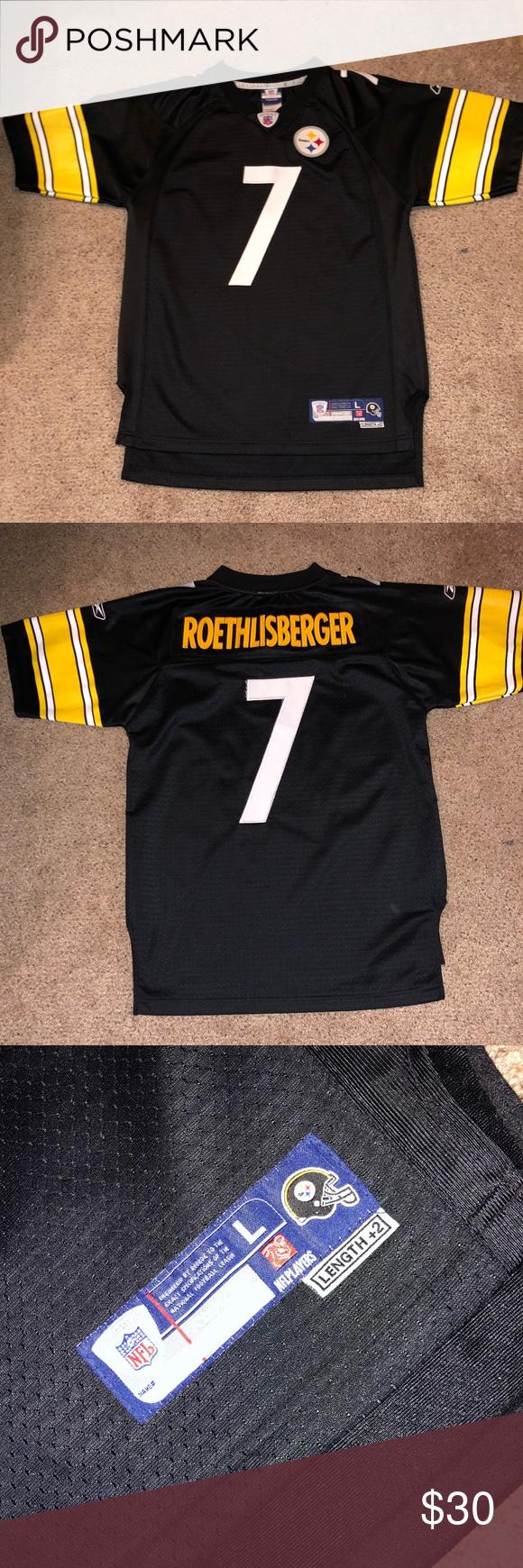 super popular a1a3d 99cfb Steelers Ben Roethlisberger Jersey Steelers Jersey Kids ...