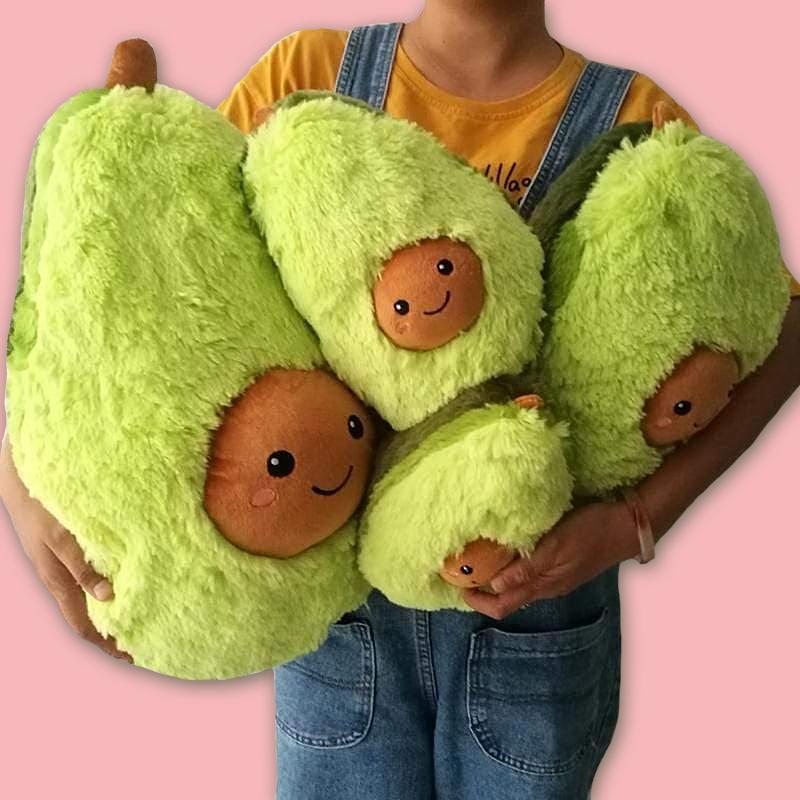 kids pillows cute avocado plush pillows