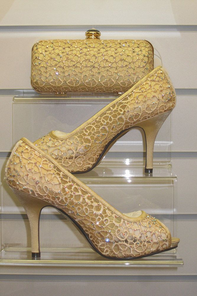 Flr181 Zlr181 Lace Mesh Wedding Open Toed Shoes In Gold Wedding Shoes Mother Of The Bride Shoes Bride Shoes
