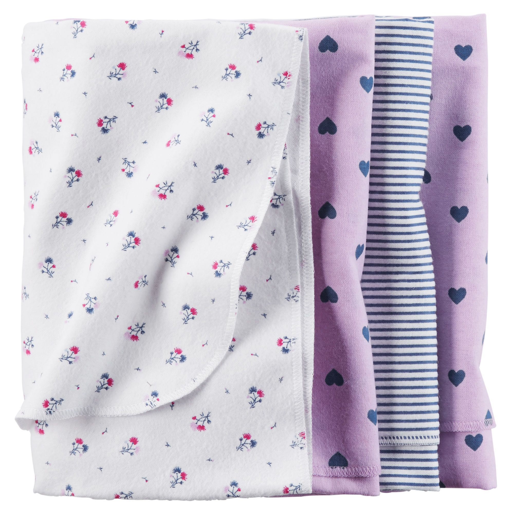 4-Pack Receiving Blankets | Carter's $13.00