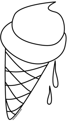 ice cream coloring pages  Ice cream social 2nd birthday party