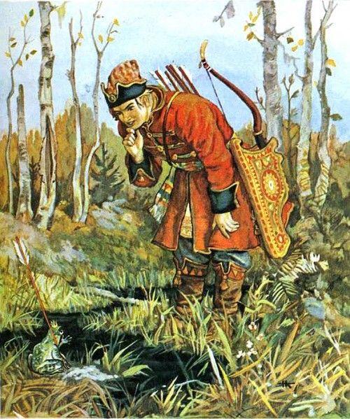 Nikolaj Kochergin Illyustrator Russkih Skazok Folk Art Kartiny Risunki Hudozhniki Illyustracii