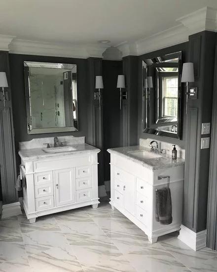 Elizabeth Bath Vanity Traditional Bathroom Vanities And Sink Consoles By Kitchen Bath C With Images Traditional Bathroom Vanity Kitchen Bath Collection