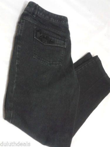 Michael Kors, Black Jeans, Rhinestone Back pockets. Size 10.