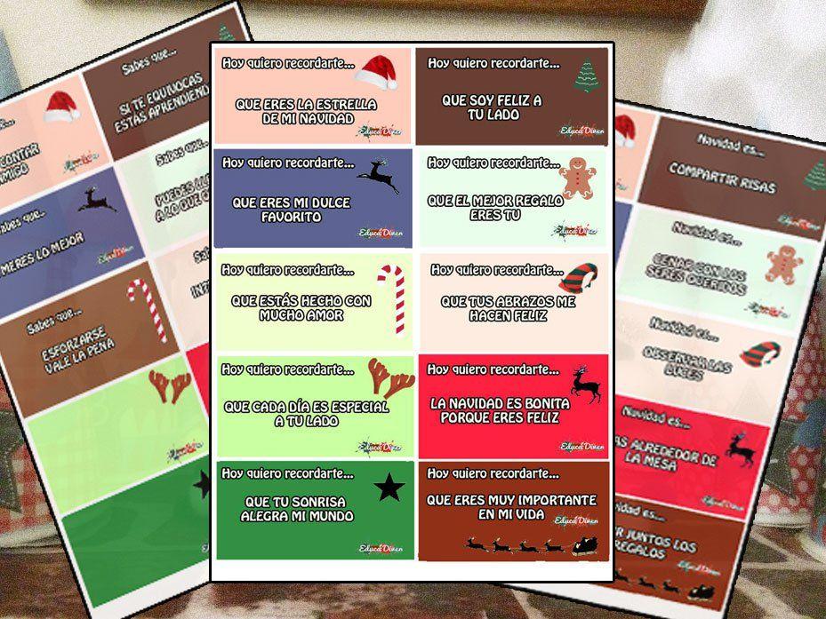 Frases Positivas Para El Calendario De Adviento Calendario