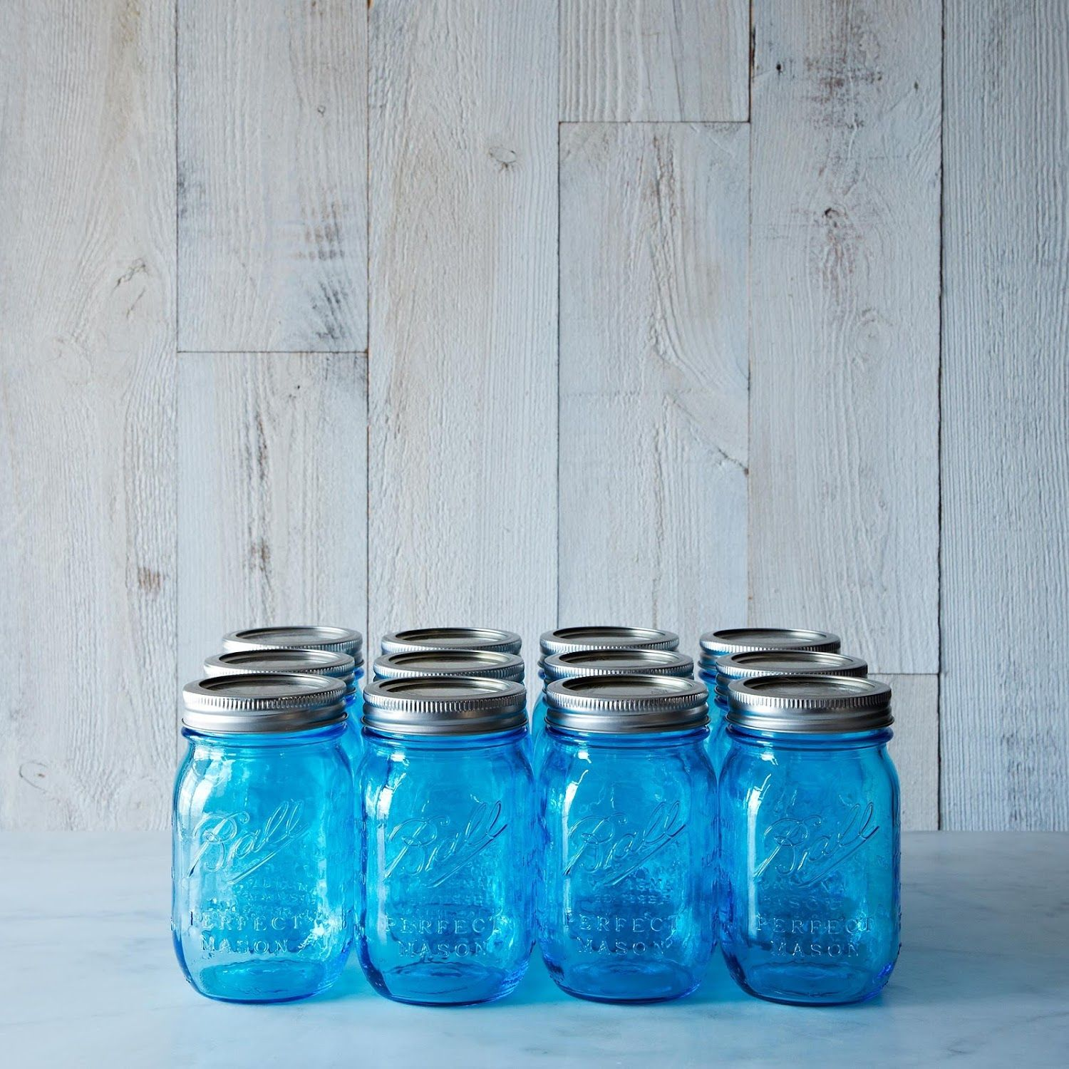 Blue Ball American Heritage Collection Pint Jars (Set of 12) | Wish ...