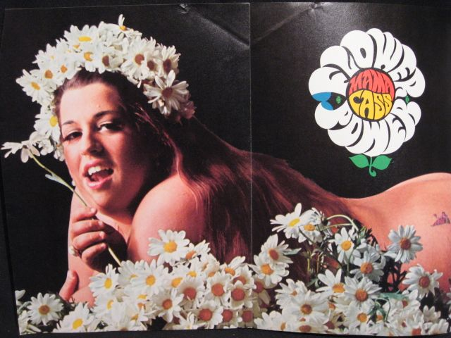 Mama Cass Triptych Poster in 1967 Cheetah Magazine ...