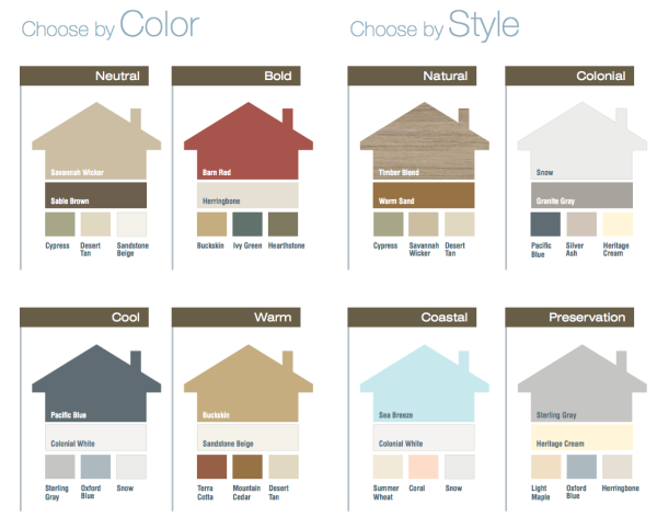 Trying To Decide What Colors Would Look Best On Your Home Try These Out On Al House Paint Exterior Vinyl Siding Colors Exterior House Paint Color Combinations
