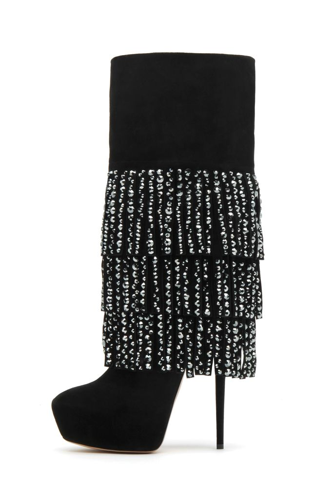 A bit of bling for Autumn/Winter 12 by Casadei