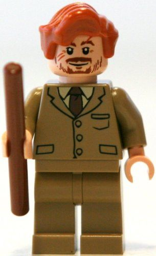 LEGO Professor Lupin w/ Wand - Harry Potter Minifigure LEGO http ...