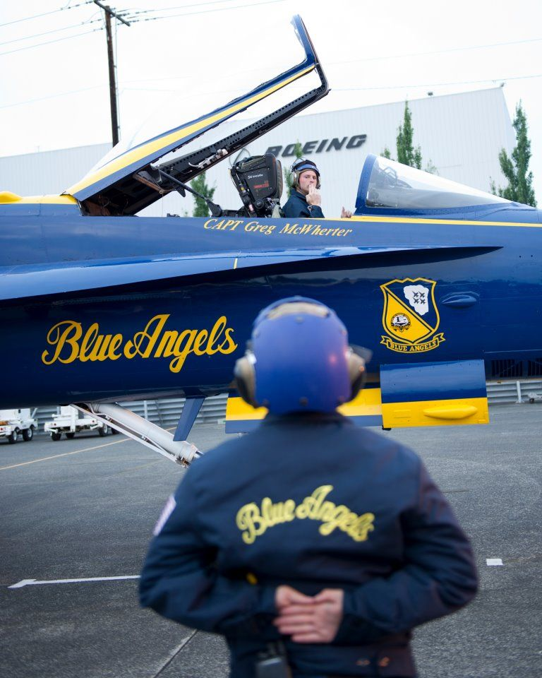 It's all about precision, and procedure! ... Blue Angels