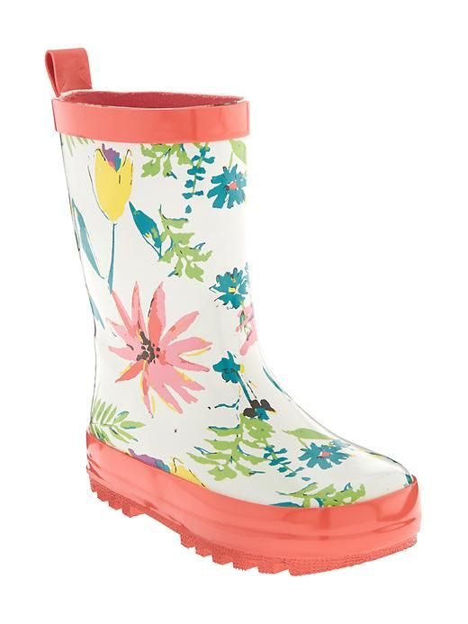 Patterned Rain Boots For Baby Product Image Elanor's Future Closet Enchanting Patterned Rain Boots