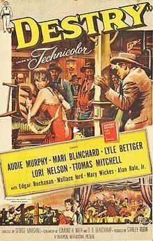 'Destry Audie Murphy 1954