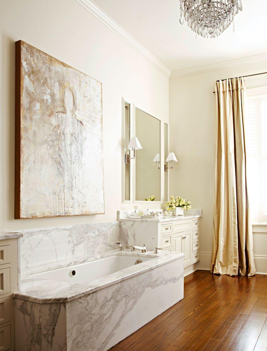 design ideas for neutral color master bathrooms  bathroom