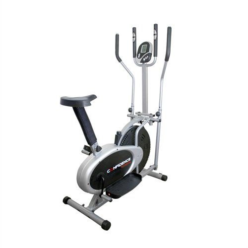 Confidence Pro Model 2 In 1 Elliptical Cross Trainer Exercise