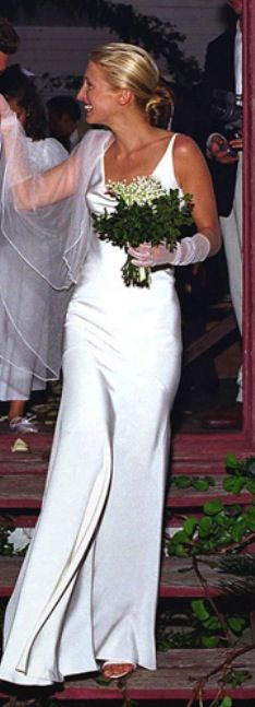Caroline Bessette married John Kennedy Jr. | Carolyn Bessette Look ...
