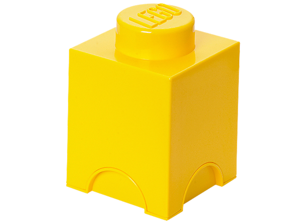 Photo of LEGO® 1-stud Yellow Storage Brick 5004898   Diverse   Kjøp online i den offisielle LEGO® Shop US