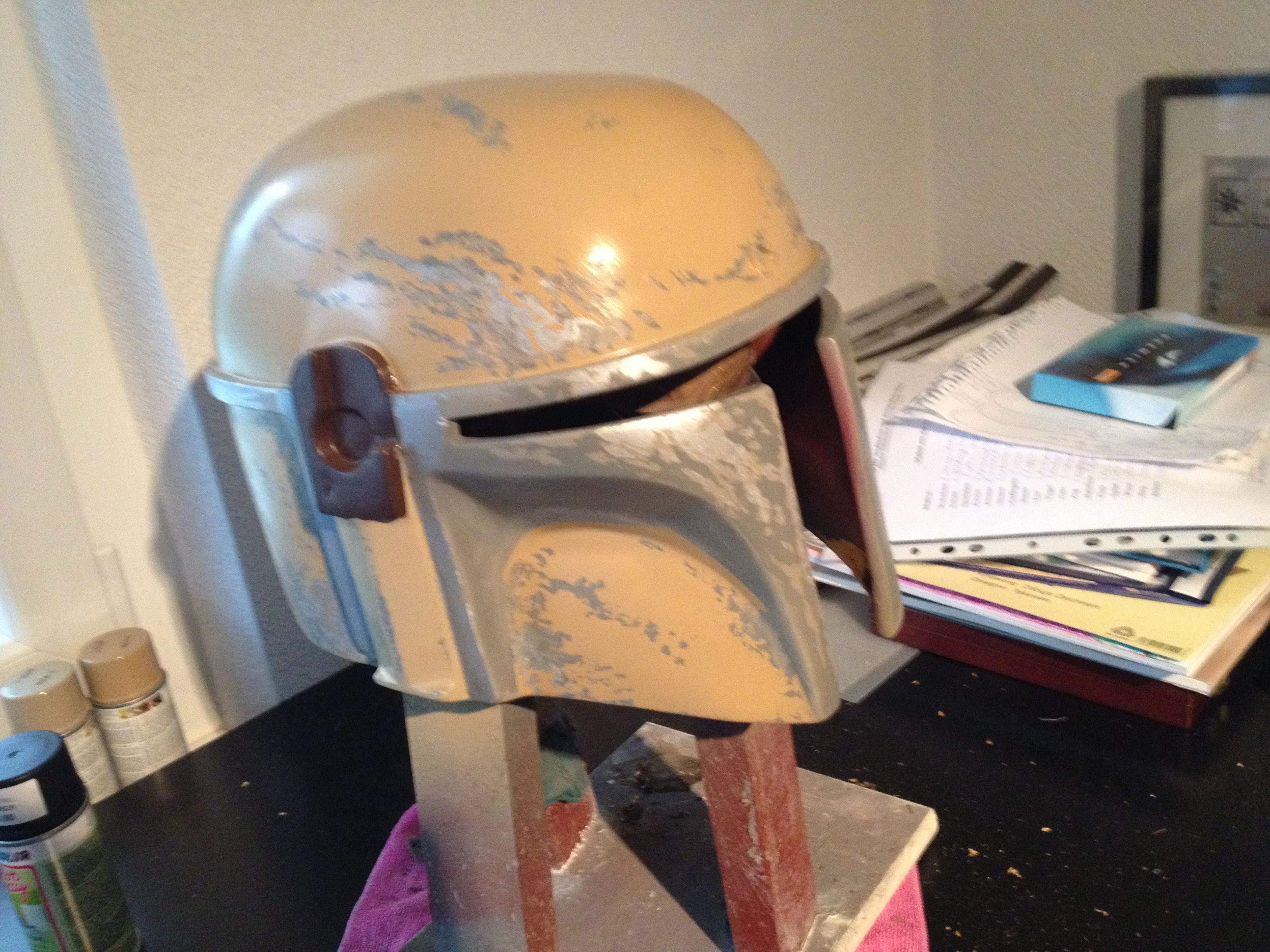 Front side 3 Layer and Detail Painting | Mandalorian | Pinterest