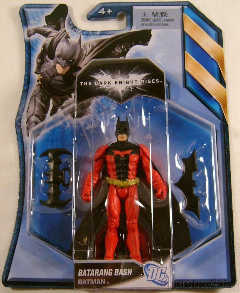 DC Batman Caped Crusader Figurine with Batarang DARK KNIGHT
