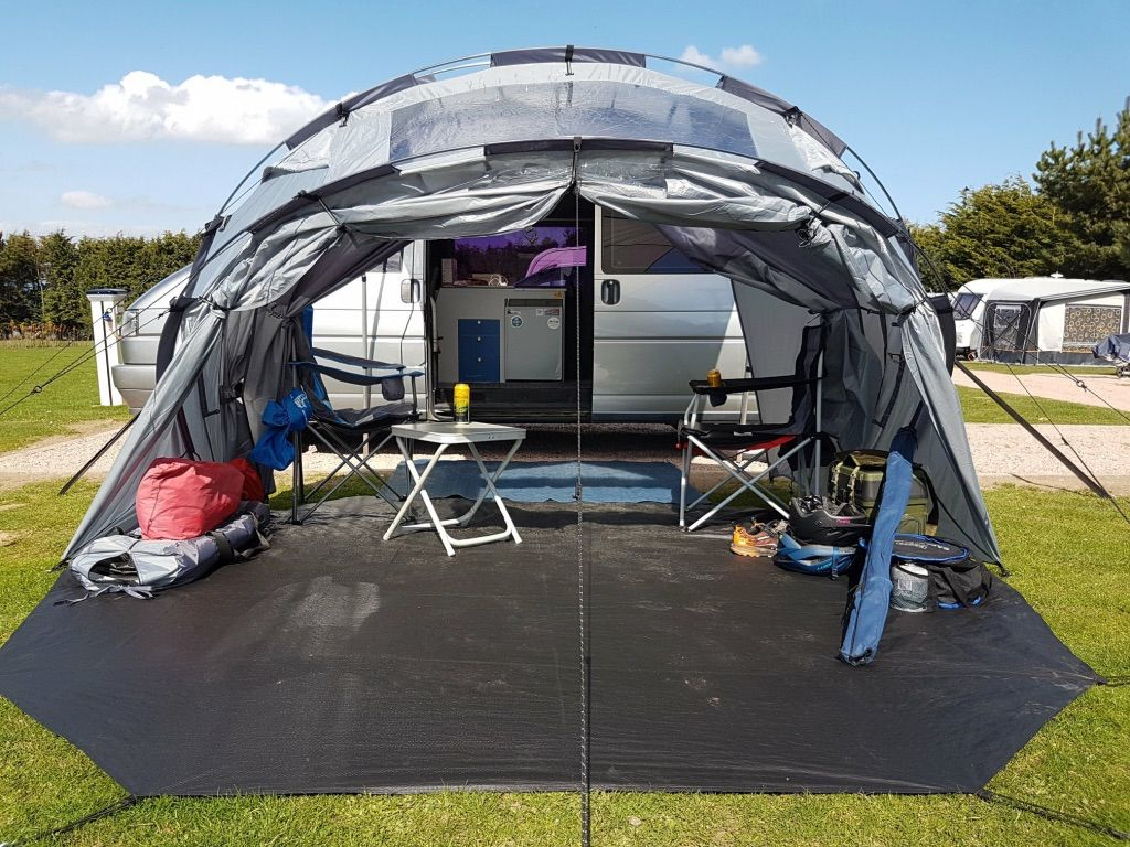 Can your awning do this? The SheltaPod folds up into a sun