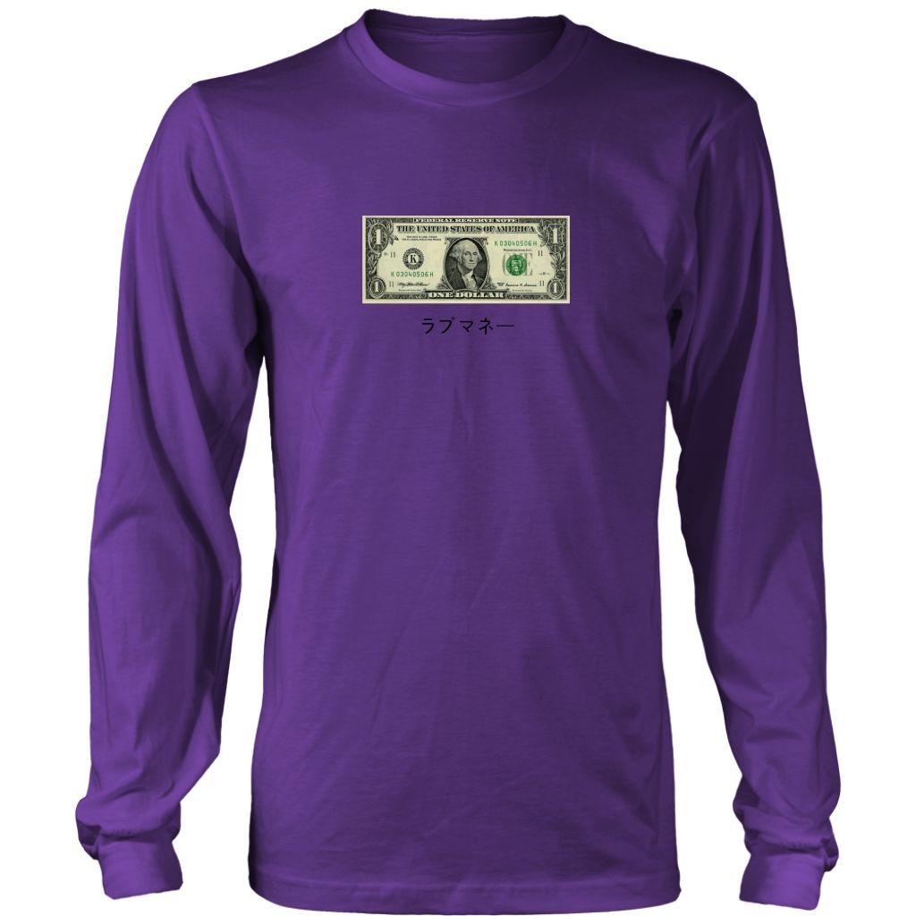 "$1 Bill ""Luv Money"" Long Sleeve"